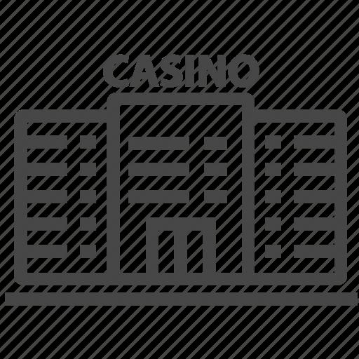 building, casino, gambling icon