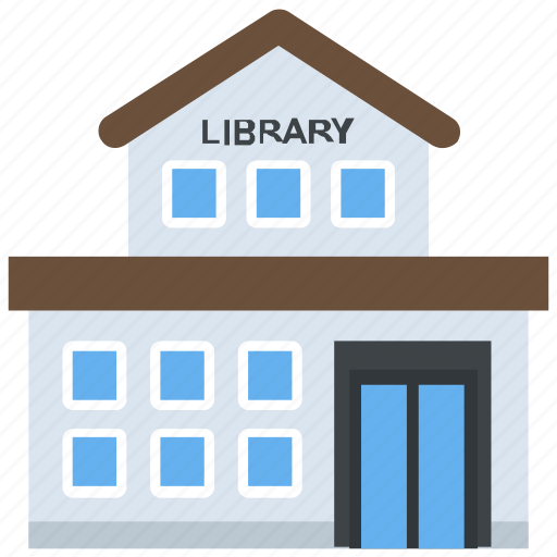 book club, bookshop, bookstore, educational building, library icon
