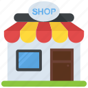 commercial building, marketplace, shop, store, storefront icon