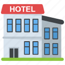 hostel, hotel, house, inn, motel icon