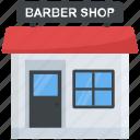 architecture, barbershop, beauty salon, beauty salon exterior, building icon
