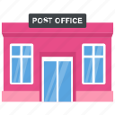 building, government building, gpo, mail depot, post office