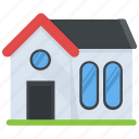 family house, home, house, residence, residential building icon