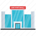 mall, mart, plaza, shopping center, shopping mall icon