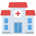 asylum, dispensary, hospital, medical building, nursing home icon