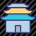 china, church, garden, yu icon