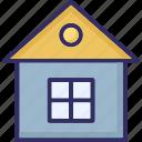 agricultural home, farm house, home, rural house icon