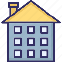 building, home, house, mansion icon