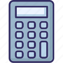 adding machine, calculation, calculator, finance icon