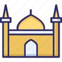 building, islamic building, mosque, tomb icon