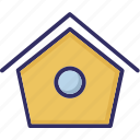animal house, dog home, dog house, pet home icon