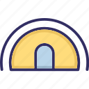 passageway, subway tunnel, tunnel, underpass icon