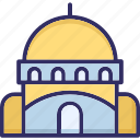 building, religious building, shack, tomb building icon