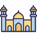 house of god, house of worship, mosque, place of worship icon