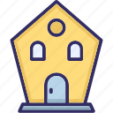 godown, secure storage, storage garage, storage unit icon