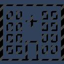 clinic, dispensary, hospital, hospital building icon