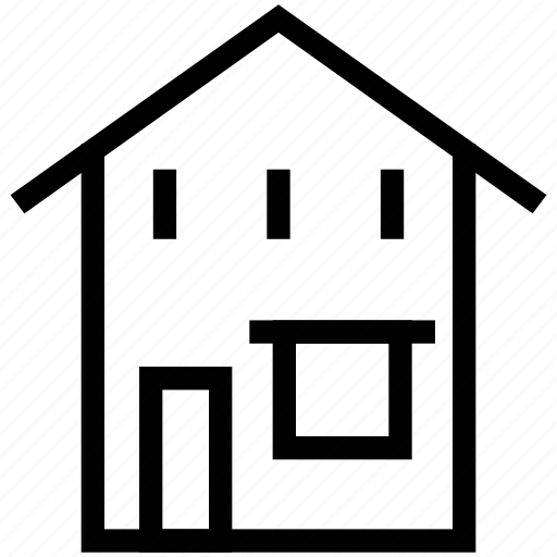 apartment, bungalow, cottage, family home, home, house, residence icon