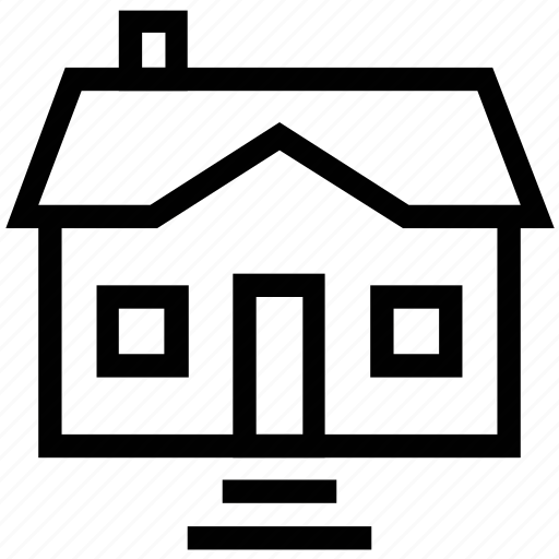 apartment, cottage, family home, home, house, residence icon