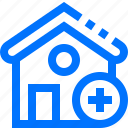 add, buildings, estate, house, new, plus, real