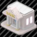 finance, bank, banking, money, building, map