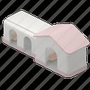 real, estate, map, location, building, public, element