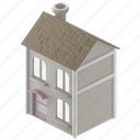 real, estate, modest, home, house, building, property