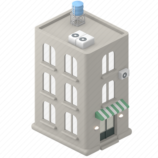 Real, estate, building, house, home, apartment, property icon - Download on Iconfinder