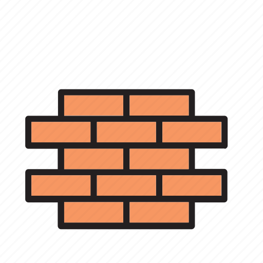 architecture, block, brick, bricks, building, construction, wall icon