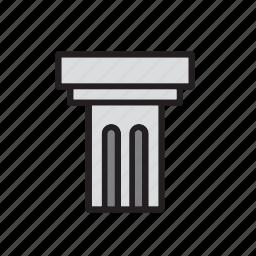 architecture, building, column, construction, landmark, monument, museum icon