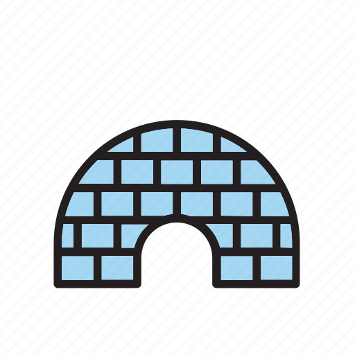 architecture, building, construction, igloo icon