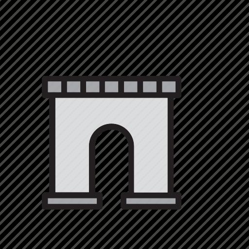 arch, architecture, france, landmark, monument, paris, triumph icon