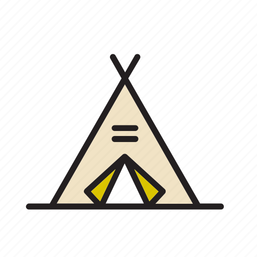 architecture, building, construction, indian, tent, wigwam icon