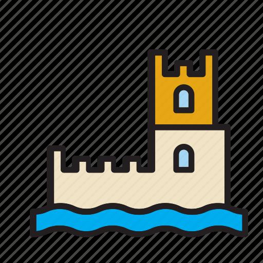 belem, building, castle, landmark, lisbon, monument, tower icon