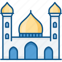 building, home, house, masjid tower icon, mosque, muslim icon