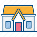 apartment, building, family house, home, house icon icon