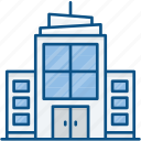 apartment, business, city, hotel, resort, service, urban icon icon
