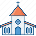 christian worship, church, lords house, prayer area, prayer rooms icon icon
