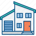 apartment, building, construction, house, investment, rent, sale icon icon