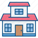 apartment, home, house, residential icon icon