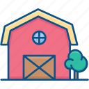 agriculture, barn, building, farm, storage, storehouse, village storehouse icon icon