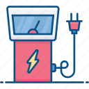charging, eco, electric, energy, power, power station icon, station icon