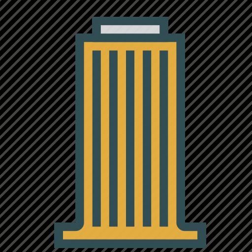 big, building, construction, office, skyscraper icon