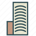 apartment, big, building, construction, storey icon