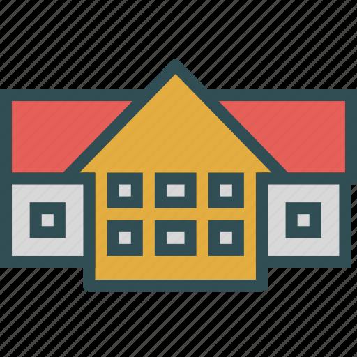 big, home, house, mansion, villa icon