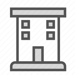 apartment, building, construction, house icon