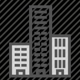 apartment, building, construction, skyscraper, storey icon