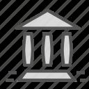 ancient, colosseum, greece, pillars, roman icon