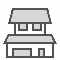 building, construction, floor, home, house, levels icon