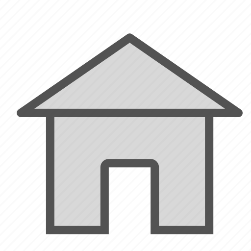 building, construction, home, house, roof icon