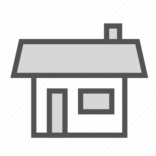 building, construction, home, house, small icon